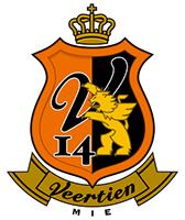Veertien Mie - Logo