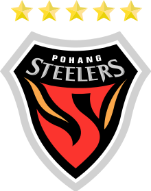 Поханг Стийлърс - Logo