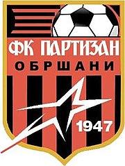 FK Partizan Obršani - Logo