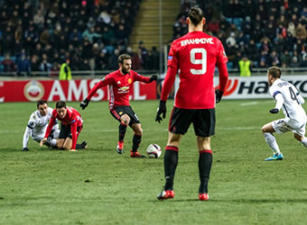 United Too Strong for Anderlecht