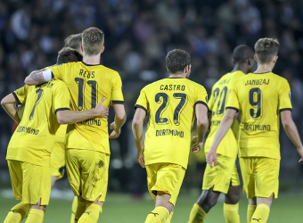 Dortmund to seal Champions League group spot
