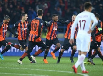 Shakhtar to hold Roma in the Champions League