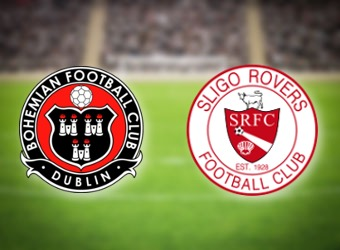 Sligo Rovers to beat Bohemians in Irish top-flight