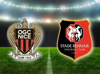 Nice and Rennes clash in Ligue One