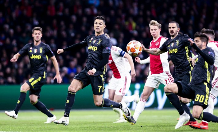 Juventus and Ajax set for three-goal thriller