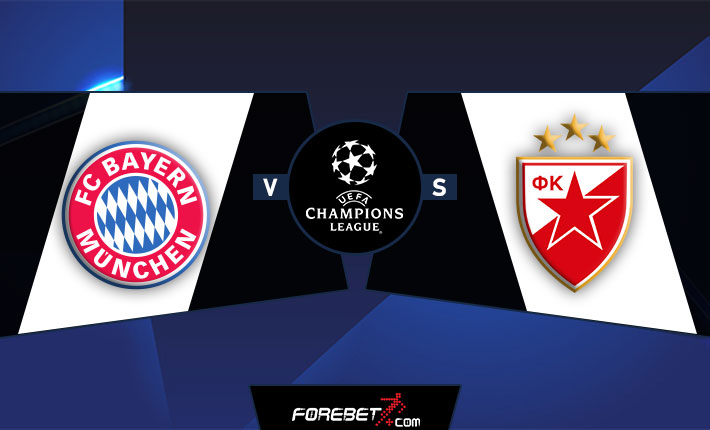 Bayern Munich to roll over Red Star Belgrade on UCL matchday 1