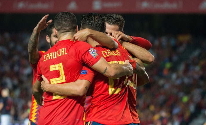 Spain to Maintain Unbeaten Record