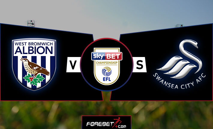 West Brom and Swansea to both score in Sunday clash