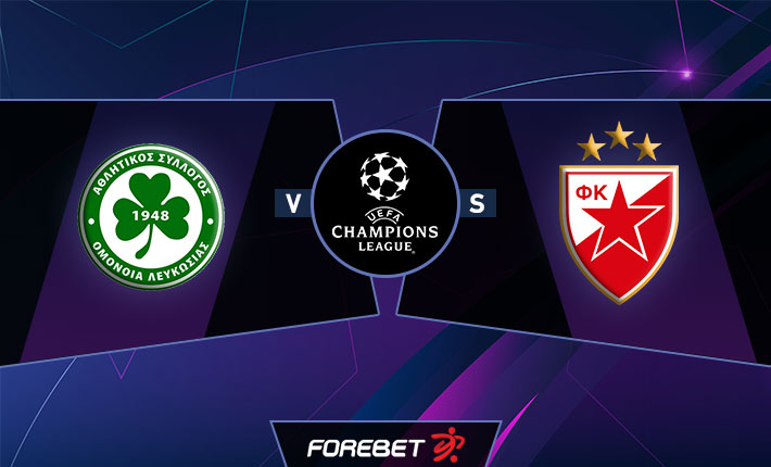 Omonia Nicosia and Red Star Belgrade meet in Champions League qualifiers